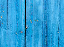 Blue grunge wooden background Stock Photo