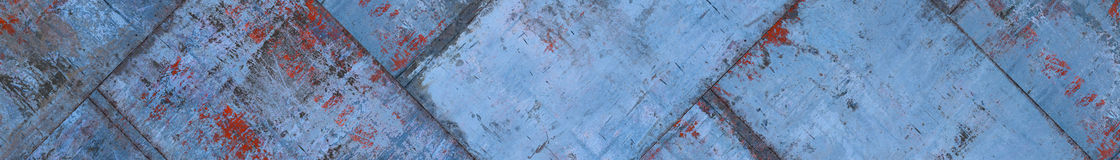 Blue Grungy Metal Background (Website Head) Stock Photo
