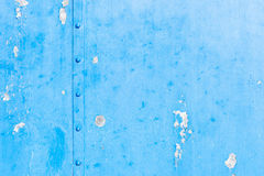 Blue grungy steel texture background Stock Image
