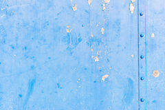 Blue grungy steel texture background Royalty Free Stock Photos