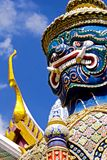 Blue Guardian, Royal Palace Bangkok Royalty Free Stock Photos
