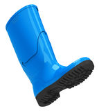 The blue gumboot Stock Photography