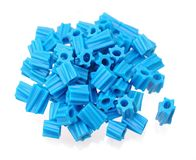 Blue gummy candies Royalty Free Stock Photo