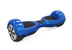 Blue Gyroscooter Isolated Royalty Free Stock Photography