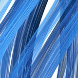 Blue hair on a white. Ringlets of blue hair close-up on a white background. Fractal art vector illustration