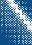 Blue halftone Royalty Free Stock Photos