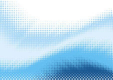 Free Blue Halftone Background Stock Photography - 21191952