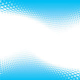Blue halftone background Royalty Free Stock Photos