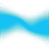 Blue halftone background Stock Photos