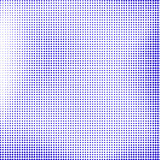 Blue Halftone Royalty Free Stock Image
