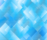 Blue halftone background with squares Stock Photos