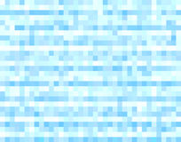 Blue halftone pixels background. Blue pixels background, halftone colors royalty free illustration