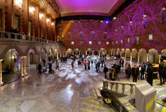 Blue hall of the Stockholm City Hall Royalty Free Stock Images