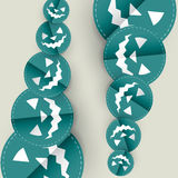 Blue halloween design Stock Photo