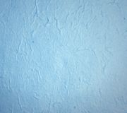 Blue hand made paper for texture or background Royalty Free Stock Photography