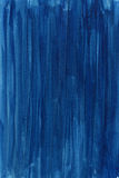 Blue hand painted abstract watercolor background Stock Images