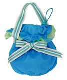 Blue handbag Royalty Free Stock Photo