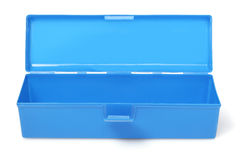 Blue Handy Box Royalty Free Stock Photo