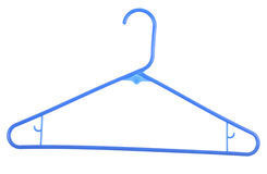 Clothes Hanger, on white Royalty Free Stock Images