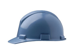 Blue Hard Hat Royalty Free Stock Photos