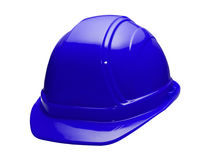 Blue Hard Hat Royalty Free Stock Image