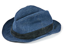 Blue hat Royalty Free Stock Image
