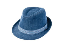 Blue hat. Isolated on white background Royalty Free Stock Images