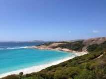 Blue Haven. In Esperance Western Australia stock images