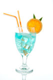 Blue Hawaiian Cocktail Stock Photography