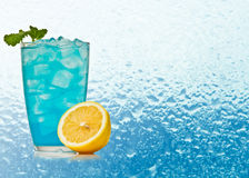 Blue Hawaiian cocktail Royalty Free Stock Photography