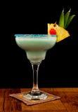 Blue hawaiian cocktail Stock Image