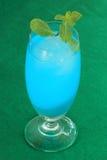Blue hawaiian cocktail Royalty Free Stock Photo