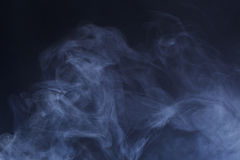 Blue Hazy Smoke Royalty Free Stock Image