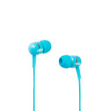 Blue Headphones Royalty Free Stock Photography