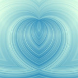 Blue heart background. Beautiful abstract blue heart background Stock Images