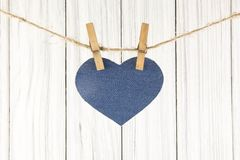 Blue heart Stock Images