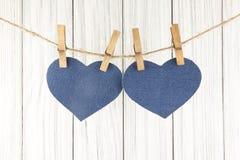 Blue heart Royalty Free Stock Photo