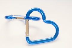 Blue Heart Shaped Stock Photos