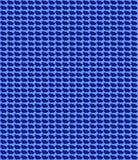 Blue hearts pattern Stock Image