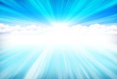 Blue heavens Royalty Free Stock Photos
