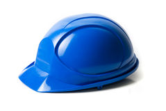 Blue helmet Royalty Free Stock Photos