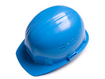 Blue helmet Stock Images