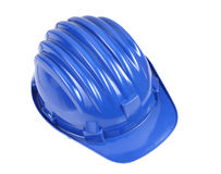Blue helmet Royalty Free Stock Images