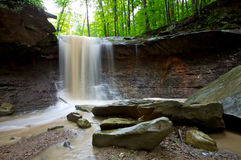 Blue Hen Creek Falls Royalty Free Stock Images