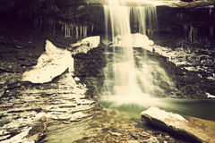 Blue Hen Falls. Royalty Free Stock Photos