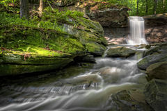 Blue Hen Falls Royalty Free Stock Image