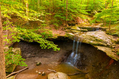 Blue Hen Falls wide Stock Photo