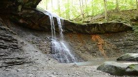 Blue Hen Waterfall. stock footage