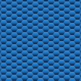 Blue Hexagon background texture. Vector Illustration. Stock Image