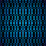 Blue Hexagon Metal Background Stock Photos